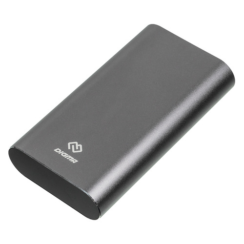 Внешний аккумулятор (Power Bank) DIGMA DG-ME-20000, 20000мAч, темно-серый DG-ME-20000 по цене 1 690