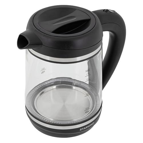 цена на Чайник электрический STARWIND SKG6760, 2200Вт, черный