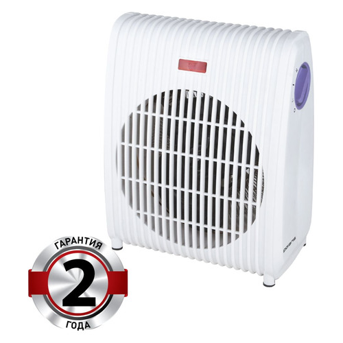 Тепловентилятор POLARIS PFH 2061, 2000Вт, белый, фиолетовый