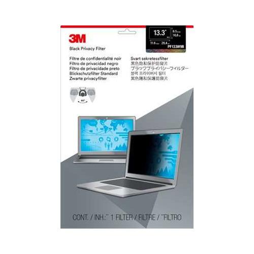 """Экран защиты информации 3M PF133W9B для ноутбука 13.3"""", 16:9, черный [7100210598]"""
