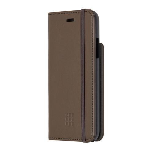 цена на Чехол (флип-кейс) MOLESKINE IPHXXX, для Apple iPhone X, коричневый [mo2cbpxp14]