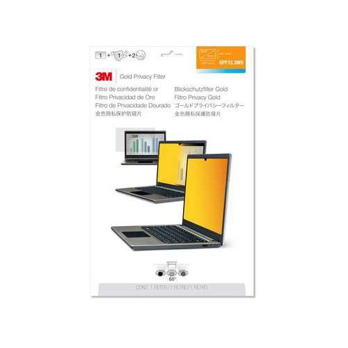 """Экран защиты информации 3M GF133W9B для ноутбука 13.3"""", 16:9, золотистый [7100207024]"""