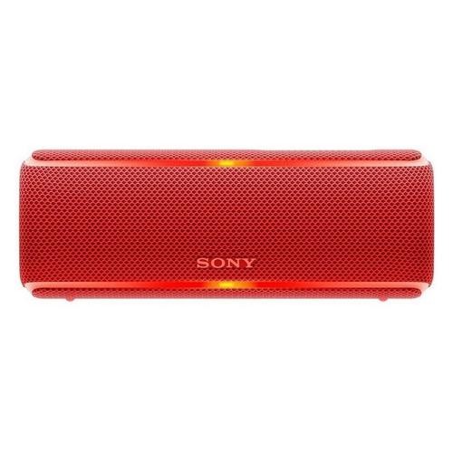 Портативная колонка SONY SRS-XB21, 14Вт, красный [srsxb21r.ru2] недорого