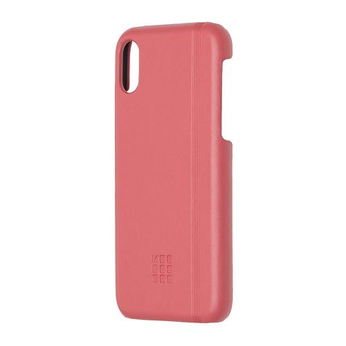 Чехол (клип-кейс) MOLESKINE IPHXXX, для Apple iPhone X, розовый [mo2chpxd11] IPHXXX по цене 2 340