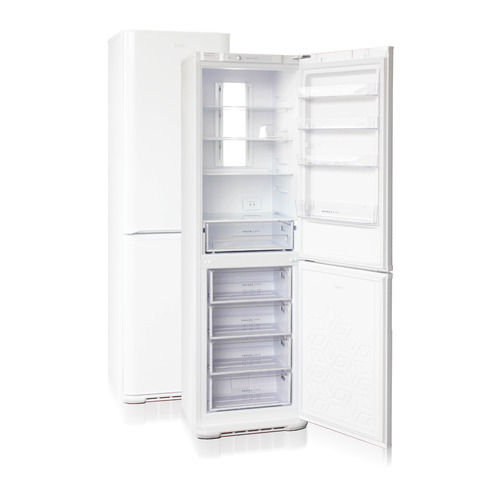 Холодильник БИРЮСА Б-380NF, двухкамерный, белый
