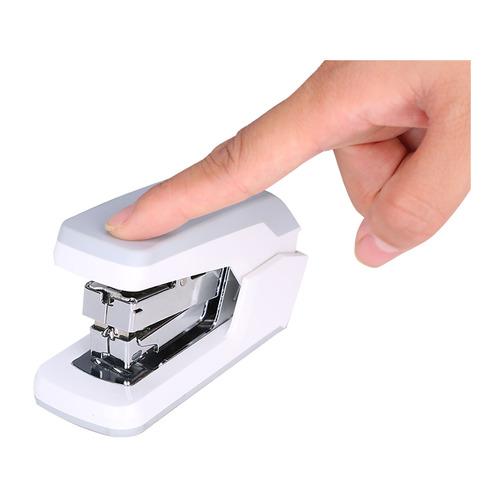 Упаковка степлеров DELI Exceed E0370white, 25 листов, 50 скоб, белый 12 шт./кор. E0370white по цене 4 320