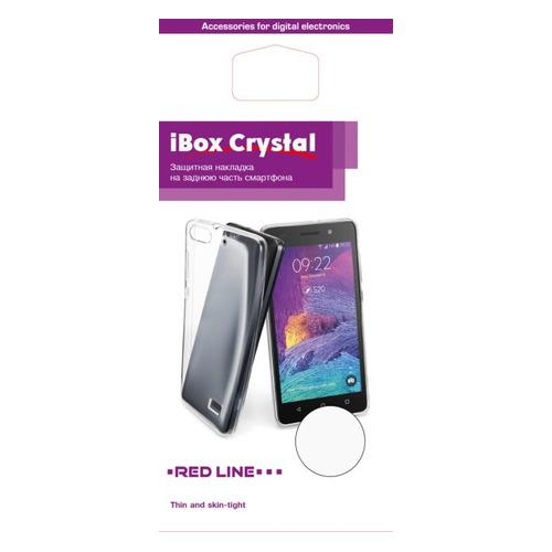 Чехол (клип-кейс) REDLINE iBox Crystal, для Motorola Moto E4 Plus, прозрачный [ут000014541] цена в Москве и Питере