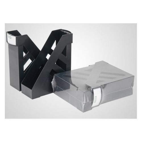 Набор лотков вертикальный СТАММ Ультра ЛТ104, 100x270x345, пластик, черный ЛТ104 по цене 260