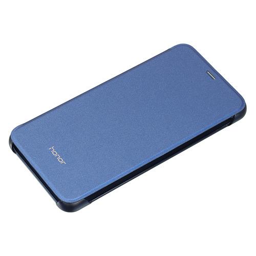 Чехол (флип-кейс) HONOR PU Case, для Huawei Honor 9 Lite, синий [51992426]