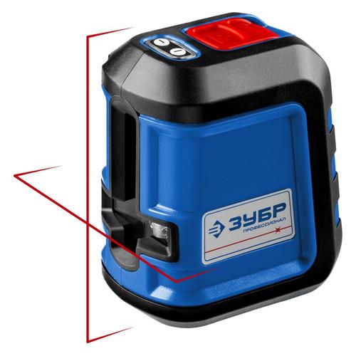 Лазерный нивелир ЗУБР КРЕСТ-15 [34902_z01] КРЕСТ-15 по цене 4 260