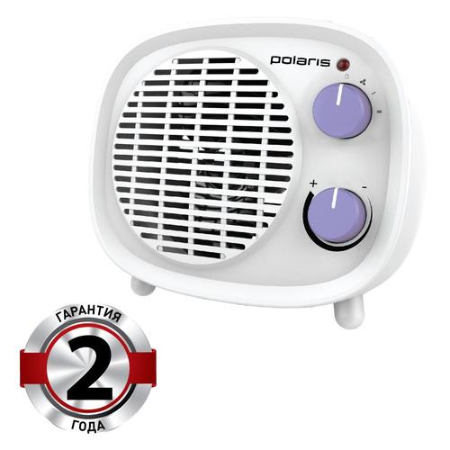 Тепловентилятор POLARIS PFH 2062, 1800Вт, белый, фиолетовый цена