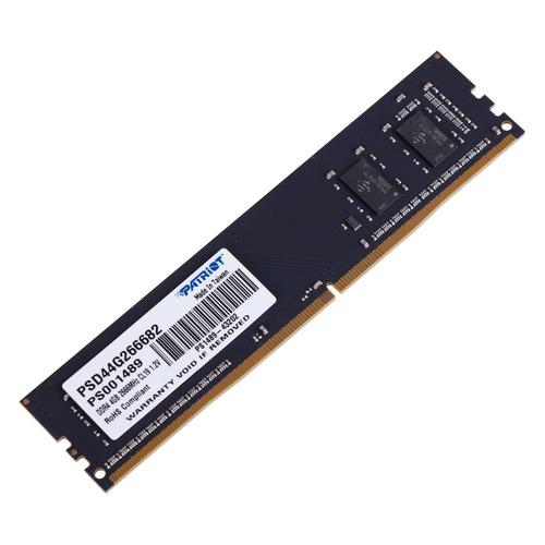 Модуль памяти PATRIOT PSD44G266682 DDR4 - 4Гб 2666, DIMM, Ret