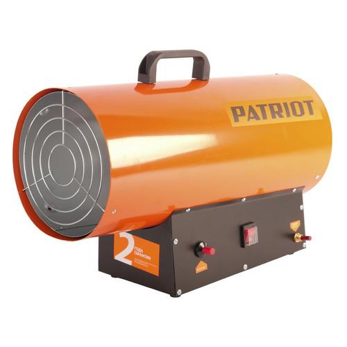 Тепловая пушка газовая PATRIOT GS 30, 30кВт оранжевый [633445022] электрический котёл savitr star prof 30квт