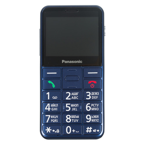 Мобильный телефон PANASONIC TU150, синий katherine o в режиме ожидания