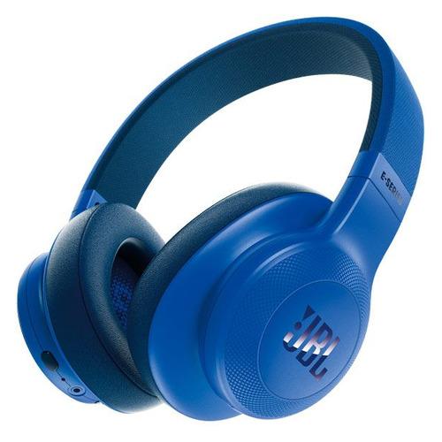Наушники с микрофоном JBL E55BT Lifestyle, 3.5 мм/Bluetooth, мониторы, синий [jble55btblu] беспроводные наушники jbl bluetooth e55bt накладные white