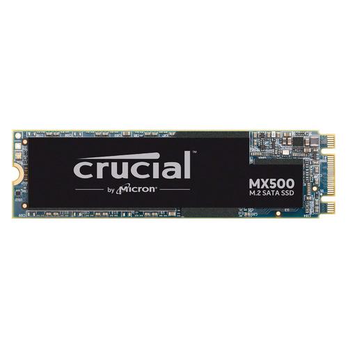SSD накопитель CRUCIAL MX500 CT500MX500SSD4N 500Гб, M.2 2280, SATA III