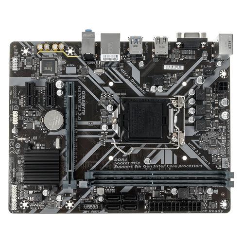 Материнская плата GIGABYTE H310M S2 2.0, LGA 1151v2, Intel H310C, mATX, Ret цена и фото