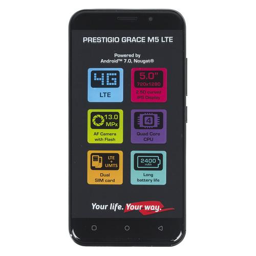 лучшая цена Смартфон PRESTIGIO Grace LTE черный