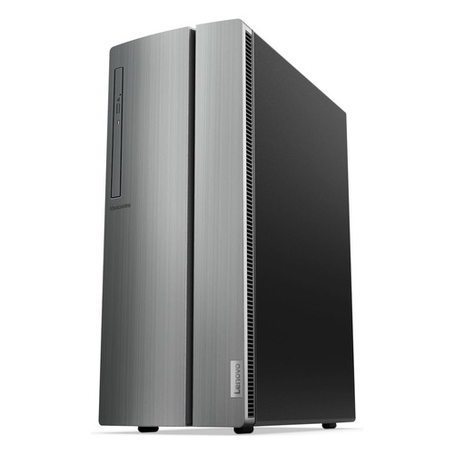 Компьютер LENOVO IdeaCentre 510-15ICB, Intel Pentium Gold G5400, DDR4 4Гб, 1000Гб, Intel UHD Graphics 610, DVD-RW, CR, Free DOS, серебристый [90hu0067rs] компьютер lenovo ideacentre 310s 08igm intel celeron j4005 ddr4 4гб 1000гб intel uhd graphics 600 noos серебристый [90hx001ars]