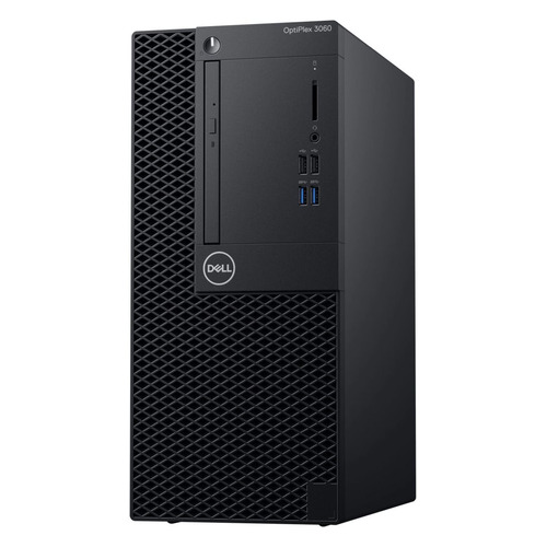 Компьютер DELL Optiplex 3060, Intel Core i3 8100, DDR4 4Гб, 500Гб, Intel UHD Graphics 630, DVD-RW, Windows 10 Professional, черный [3060-7465] чехол для сотового телефона samsung galaxy s8 silicone green ef pg950tgegru