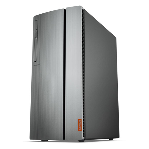 Компьютер LENOVO IdeaCentre 720-18ICB, Intel Core i5 8400, DDR4 8Гб, 1000Гб, 128Гб(SSD), NVIDIA GeForce GTX 1050Ti - 4096 Мб, DVD-RW, CR, Windows 10, серебристый [90ht001mrs] компьютер hp pavilion 590 p0010ur intel core i5 8400 ddr4 8гб 1000гб 16гб intel optane nvidia geforce gtx 1050ti 4096 мб dvd rw cr windows 10 серебристый и черный [4gl62ea]