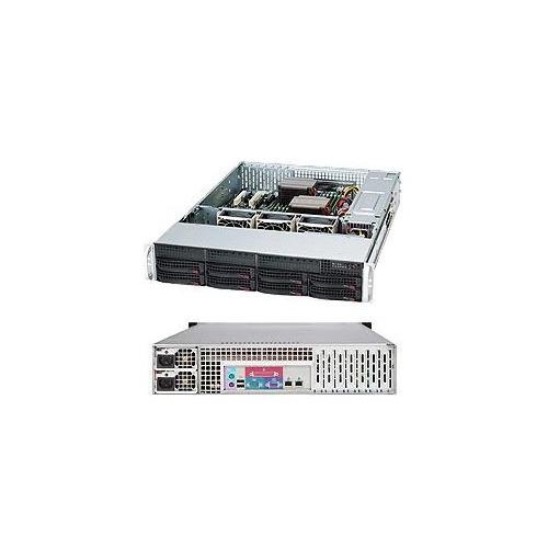 Корпус SuperMicro CSE-825TQC-R1K03LPB 2x1000W черный корпус supermicro cse 846be1c r1k23b 2x1200w черный
