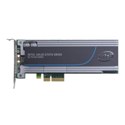 SSD накопитель INTEL DC P3700 SSDPEDMD400G410 400Гб, PCI-E AIC (add-in-card), PCI-E x4, NVMe cy sa 144 express pci e to 2013 apple macbook pro air ssd convert card for a1493 a1502 more