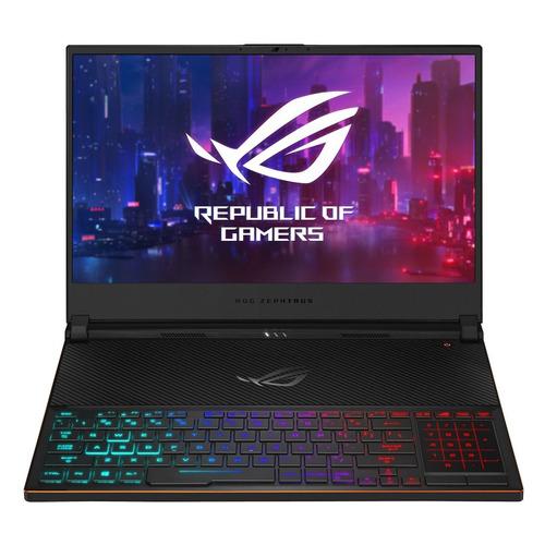 цена на Ноутбук ASUS ROG GX531GM-ES023T, 15.6, IPS, Intel Core i7 8750H 2.2ГГц, 16ГБ, 256ГБ SSD, nVidia GeForce GTX 1060 - 6144 Мб, Windows 10, 90NR0101-M00520, черный