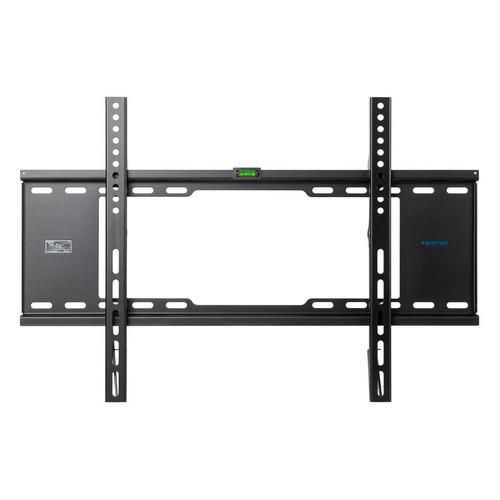 Фото - Кронштейн для телевизора Kromax IDEAL-101 черный 32-90 макс.40кг настенный фиксированный лестница стремянка сибин 38803 09 стальная 9 ступеней 187см