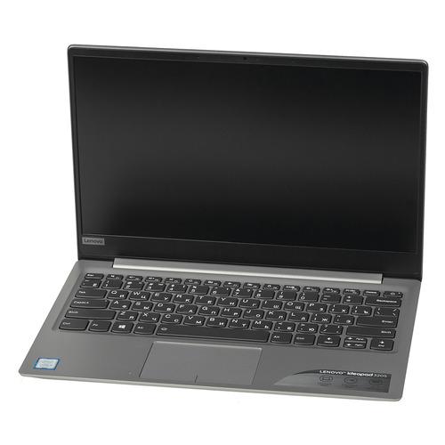 Ноутбук LENOVO IdeaPad 320S-13IKB, 13.3, IPS, Intel Core i5 8250U 1.6ГГц, 8Гб, 256Гб SSD, nVidia GeForce Mx150 - 2048 Мб, Windows 10, 81AK00F6RU, серый
