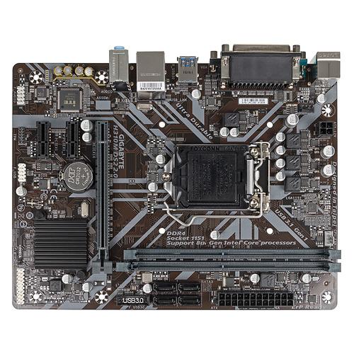 Материнская плата GIGABYTE H310M DS2 2.0, LGA 1151v2, Intel H310C, mATX, Ret цена и фото
