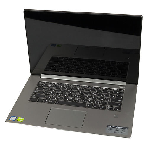 Ноутбук LENOVO IdeaPad 530S-15IKB, 15.6, IPS, Intel Core i5 8250U 1.6ГГц, 8Гб, 256Гб SSD, nVidia GeForce Mx150 - 2048 Мб, Free DOS, 81EV00A7RU, серый