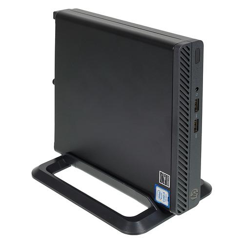 Компьютер HP 260 G3, Intel Core i3 7130U, DDR4 4ГБ, 256ГБ(SSD), Intel HD Graphics 620, Windows 10 Professional, черный [4qd06ea] компьютер
