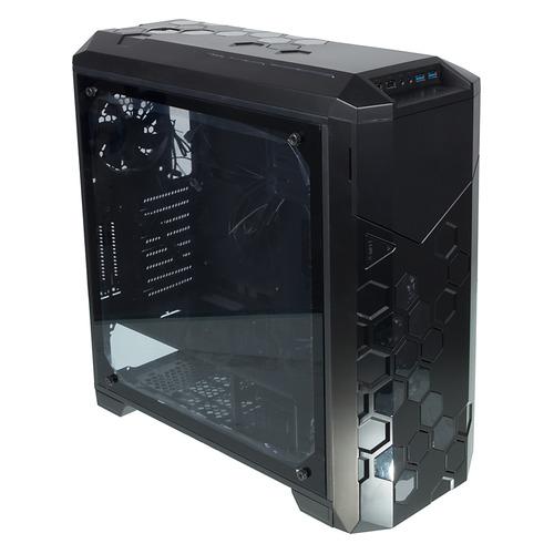 Корпус ATX FORMULA V-LINE 6000-RGB, Full-Tower, без БП, черный корпус corsair crystal series 570x rgb cc 9011098 ww atx mid tower
