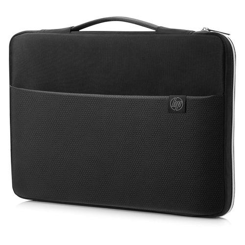 Чехол для ноутбука 15 HP Carry Sleeve, черный/серебристый [3xd36aa] чехол для ноутбука 15 6 hp carry sleeve неопрен черный 3xd35aa