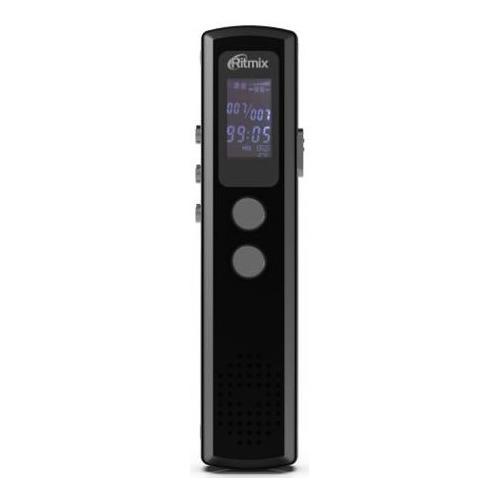 Диктофон RITMIX RR-120 8 Gb, черный диктофон ritmix rr 810 4gb