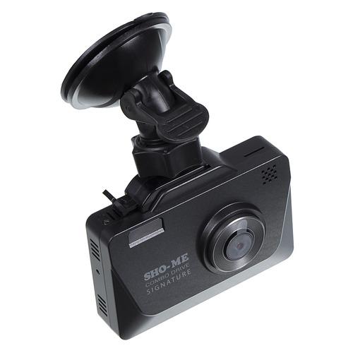 Видеорегистратор с радар-детектором SHO-ME Combo Drive Signature, GPS, ГЛОНАСС недорого
