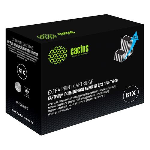 Картридж CACTUS CS-CF281X-MPS, черный CS-CF281X-MPS по цене 3 210