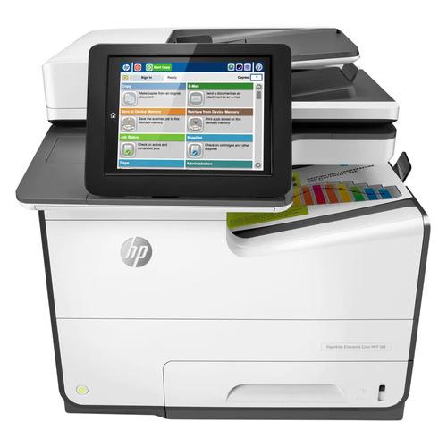 Фото - МФУ струйный HP PageWide Enterprise Color 586dn, A4, цветной, струйный, черный [g1w39a] струйный катридж для da vinci color 40ml жёлтый