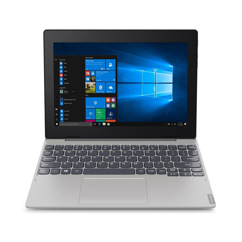 Планшет-трансформер LENOVO IdeaPad 64Gb LTE D330-10IGM, 4GB, 64GB, 3G, 4G, Windows 10 серебристый [81h3003eru] планшет hisense e2070 td scdma 4gb 3g