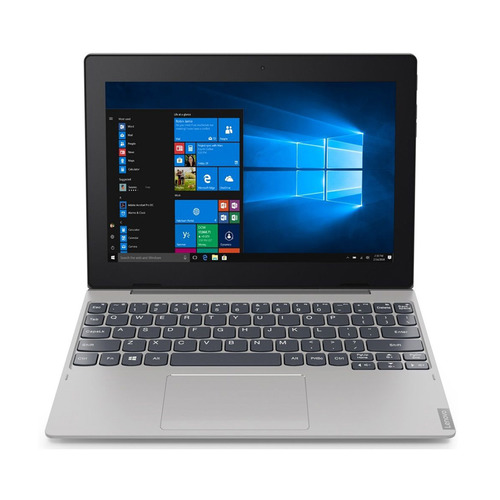 Планшет-трансформер LENOVO IdeaPad 64Gb LTE D330-10IGM, 4GB, 64GB, 3G, 4G, Windows 10 серебристый [81h3003kru] планшет hisense e2070 td scdma 4gb 3g