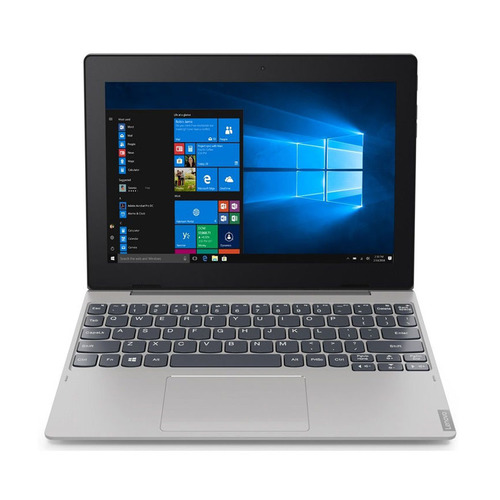 Планшет-трансформер LENOVO IdeaPad 32Gb D330-10IGM, 2GB, 32GB, Windows 10 серебристый [81h3003bru]
