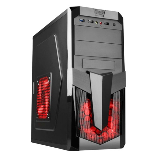 Компьютер IRU Home 225, AMD Ryzen 5 2400G, DDR4 8Гб, 120Гб(SSD), AMD Radeon RX Vega 11, Windows 10 Home, черный [1087098] цена