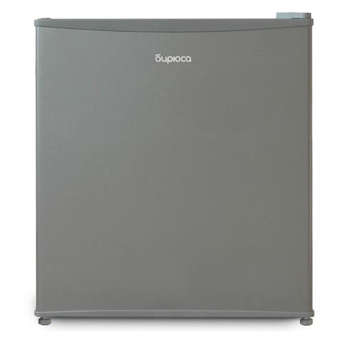 Холодильник БИРЮСА Б-M50, однокамерный, нержавеющая сталь холодильник бирюса б 50 однокамерный белый