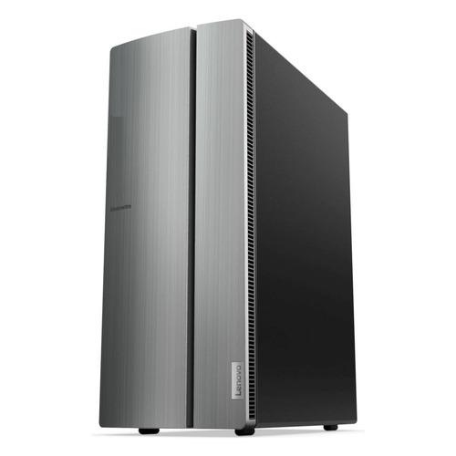 Компьютер LENOVO IdeaCentre 510-15ICB, Intel Core i3 8100, DDR4 8Гб, 1000Гб, NVIDIA GeForce GTX 1050Ti - 4096 Мб, Windows 10, серебристый [90hu008qrs] цены