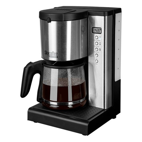 Кофеварка Redmond RCM-M1519S, капельная, черный