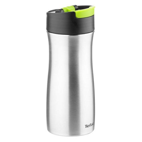 Термокружка TEFAL Coffee-To-Go K3121114, 0.36л, белый/ зеленый