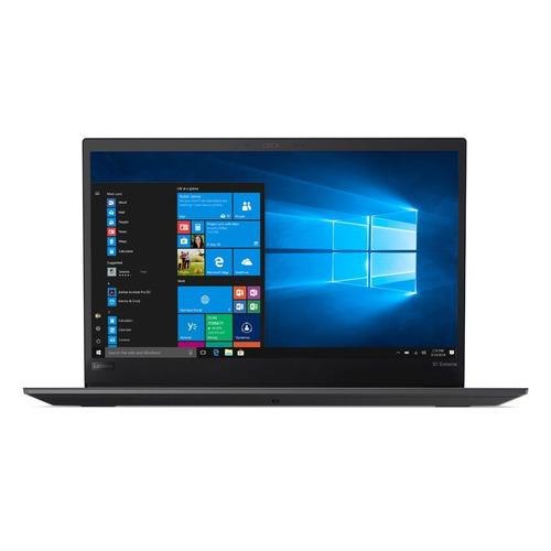 Ноутбук LENOVO ThinkPad X1 Extreme, 15.6, IPS, Intel Core i7 8750H 2.2ГГц, 16Гб, 512Гб SSD, nVidia Quadro GTX 1050 Ti - 4096 Мб, Windows 10 Professional, 20MF000TRT, черный ноутбук asus rog gl703ge gc038 17 3 ips intel core i7 8750h 2 2ггц 16гб 1000гб nvidia geforce gtx 1050 ti 4096 мб noos 90nr00d2 m04110 черный