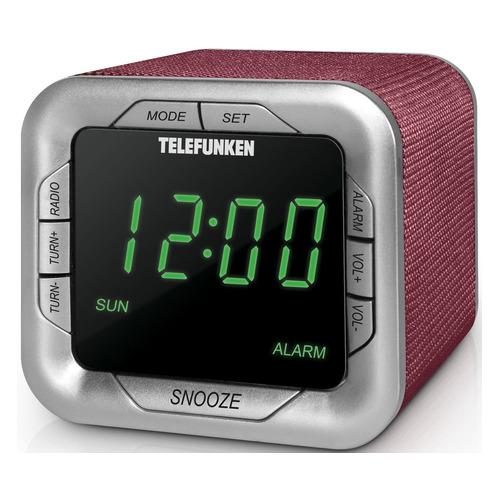 Радиоприемник TELEFUNKEN TF-1505, бордовый все цены
