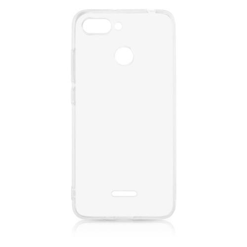 Чехол (клип-кейс) DF xiCase-32, для Xiaomi Redmi 6, прозрачный силиконовый чехол для xiaomi redmi 8 df xicase 50